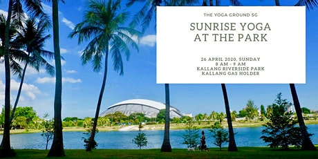 Sunrise yoga at the park tickets