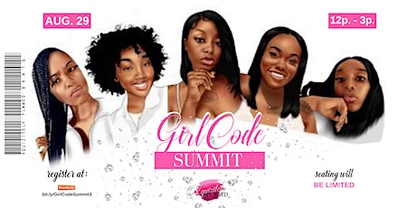 3rd Annual #GirlCode Summit tickets