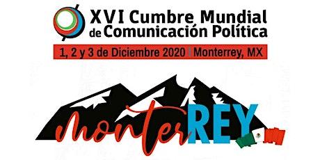 XVI Cumbre Mundial de Comunicación Política entradas