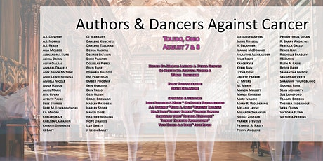 Authors & Dancers Against Cancer - Author Signing Event tickets