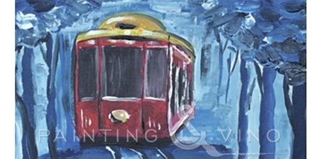 Painting & Brews - 'Cable Car at Dusk' tickets