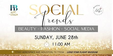 Social Trends tickets