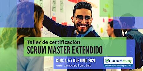 Taller de Certificación Scrum Master Extendido boletos