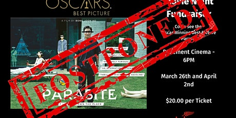 """Parasite"" Movie Screening Fundraiser tickets"