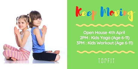 TOPFIT Kids Yoga tickets