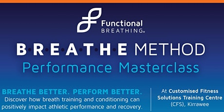 Functional Breathing - Performance Master Class tickets