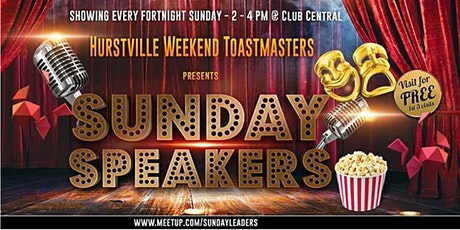 Hurstville Weekend Toastmasters Meeting- Halloween tickets