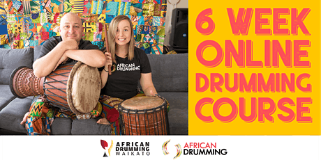 6 week online hand drumming workshop tickets