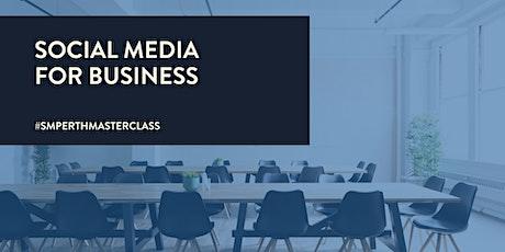 Social Media for Business [MASTERCLASS] tickets