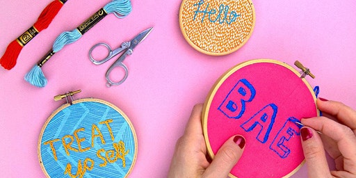 Learn Basic Embroidery
