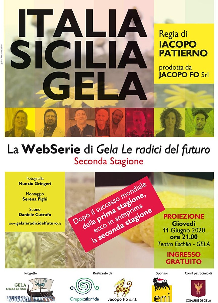Immagine Proiezione webserie Italia Sicilia Gela Seconda stagione