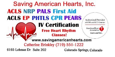 Open through COVID-19   Saving American Hearts, Inc tickets