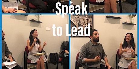 Speak to Lead: A VIRTUAL Speakers' Forum tickets