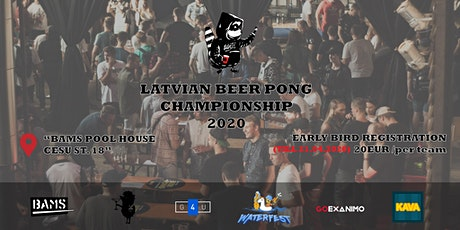 Latvian Beer Pong Championship tickets