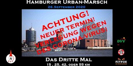 Hamburger Urban Marsch 3.0 verlegt vom 06.06.20 Tickets