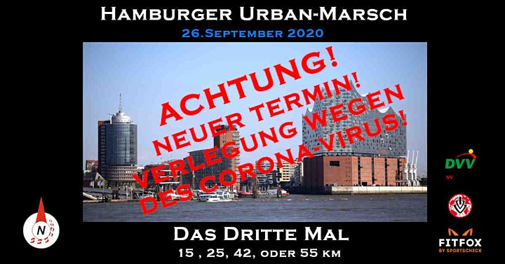 Hamburger Urban Marsch 3.0 verlegt vom 06.06.20: Bild