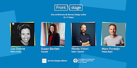 Frontstage 20 — Service Design Online Conference boletos