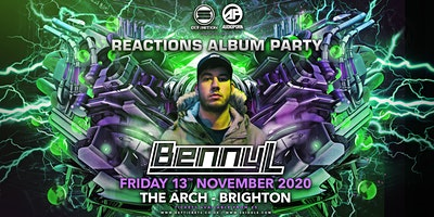Benny L - Reactions Album Party - Brighton