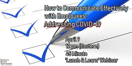 How to Communicate Effectively with Employees: Addressing COVID-19 tickets