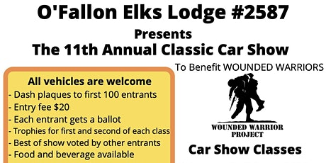 ELKS CAR SHOW tickets