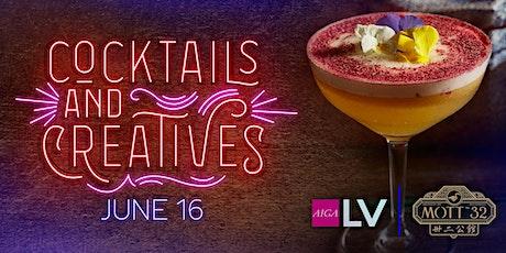 Cocktails & Creatives at Mott 32 on June 16 tickets