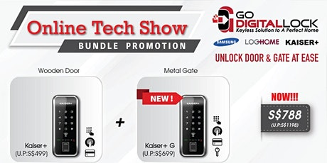 ONLINE TECH SHOW DIGITAL LOCK BUNDLE DEALS 2020 SINGAPORE tickets