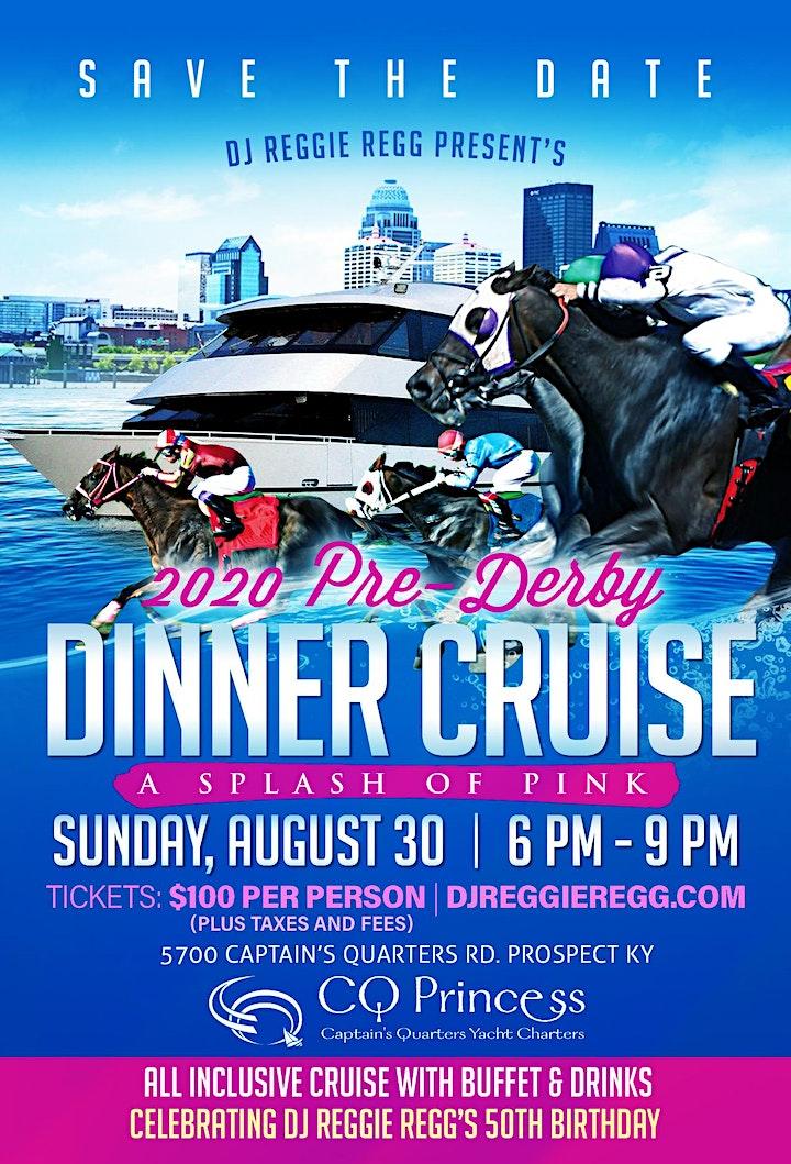 DJ Reggie Regg, 2020 Pre-Derby Dinner Cruise / 50th B-day Celebration image