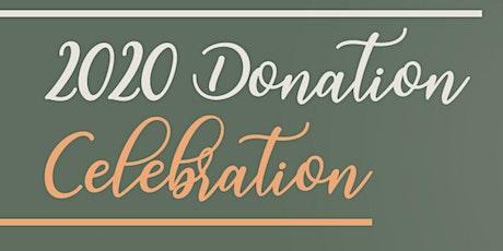 2020 Donation Celebration in Bellevue, Washington tickets