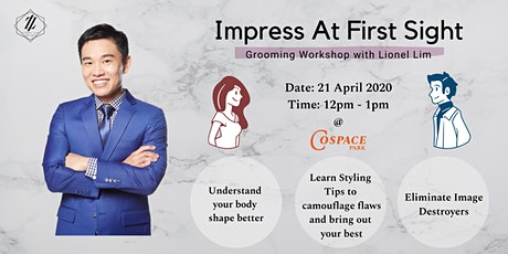 Grooming Workshop - Impress at First Sight tickets