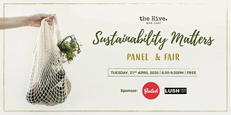 Postpone to TBC - Sustainability Matters Panel & Fair tickets