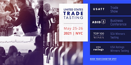 2021 USA Trade Tasting - Exhibitor Registration Portal tickets