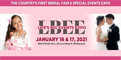 Life's Big Events Expo 2020 tickets