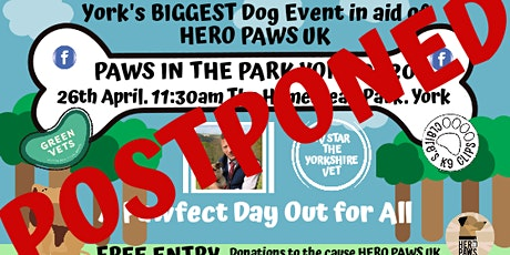 Paws in the Park York 2021 tickets