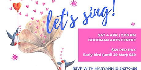 """Let's Sing!"" - A Fun Singing Workshop tickets"