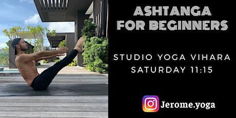 Ashtanga for beginners @ Yoga Vihara ingressos
