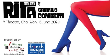 """Rita"" - Comic Opera in One Act by Gaetano Donizetti - FREE EVENT tickets"