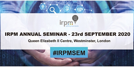 IRPM Annual Seminar 2021 tickets