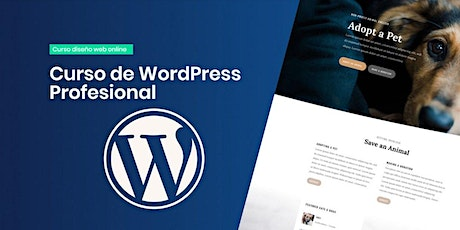 Curso Online de Wordpress - Nivel Inicial tickets