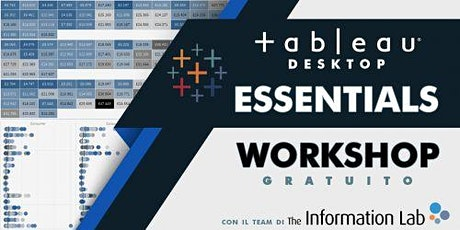 Webinar Event: Tableau Essentials  biglietti