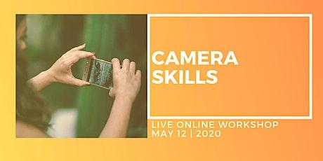 Camera Skills - Live Online One-Day Workshop tickets