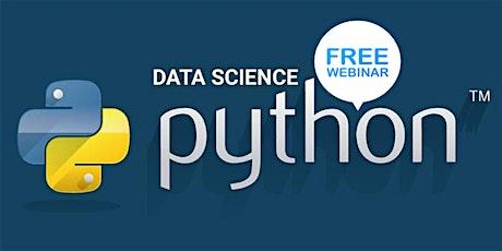 FREE Webinar : Python Programming Hands-On Workshop - Houston Tx tickets