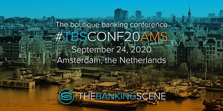 The Banking Scene 2020 Amsterdam tickets
