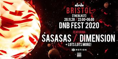 DnB Allstars x The Blast present: Spring DnB Fest *New Date* Poster