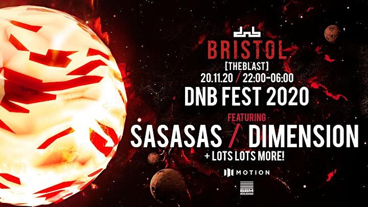 DNB Allstars x The Blast present: DNB Fest *New date* image