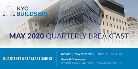 NYC Builds Bio+ May Quarterly Breakfast tickets
