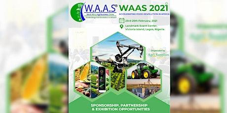 WEST AFRICA AGRIBUSINESS SHOW 2021 biglietti