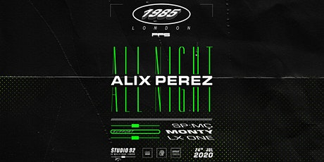 [RESCHEDULED] Alix Perez — All Night Long tickets