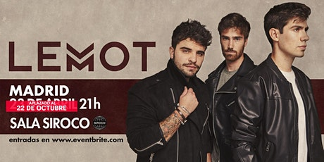 LEMOT - Concierto Madrid - Sala Siroco tickets