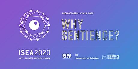 ISEA2020 Montréal - Symposium billets