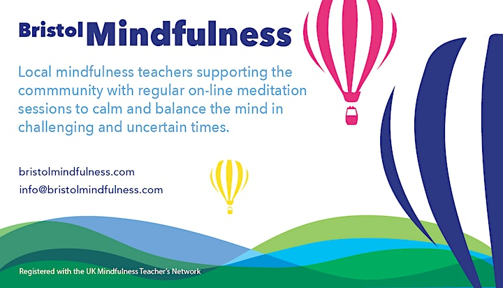 Online Mindfulness Support Sessions with Bristol Mindfulness - Mon &Weds PM image